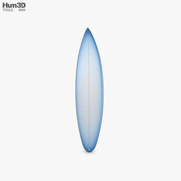 3D model of Surfboard