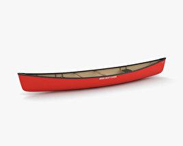 3D model of Canoe