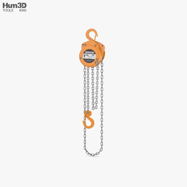 3D model of Hand Chain Hoist