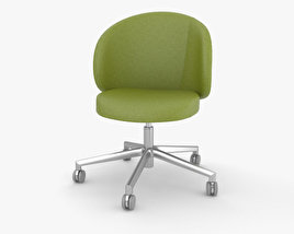 Eurosit Visitors Chair 3D model