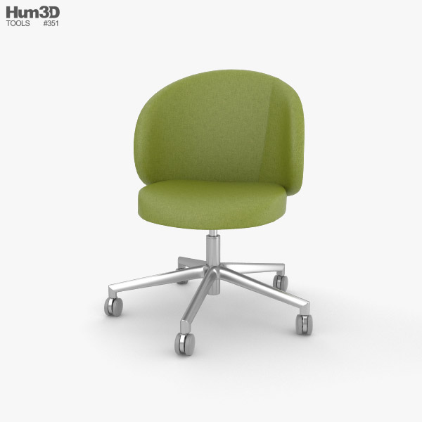 3D model of Eurosit Visitors Chair