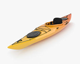 3D model of Kayak