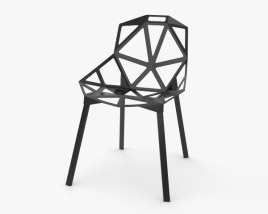 3D model of Chair One