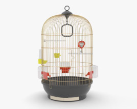 3D model of Bird Cage