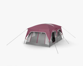 3D model of Columbia 10 Person Dome Tent