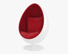 3D model of Egg Chair