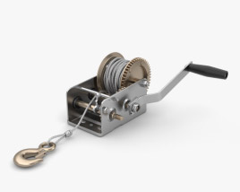 3D model of Hand Winch