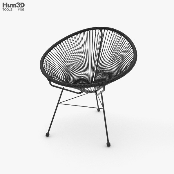 3D model of Acapulco Chair