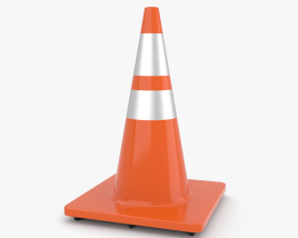 3D model of Traffic Cone