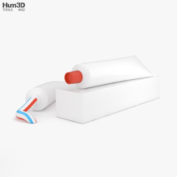 Toothpaste 3D model