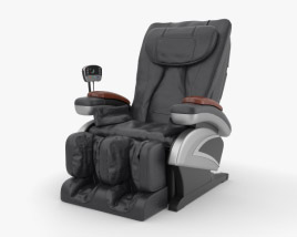 3D model of Robotic Massage Chair