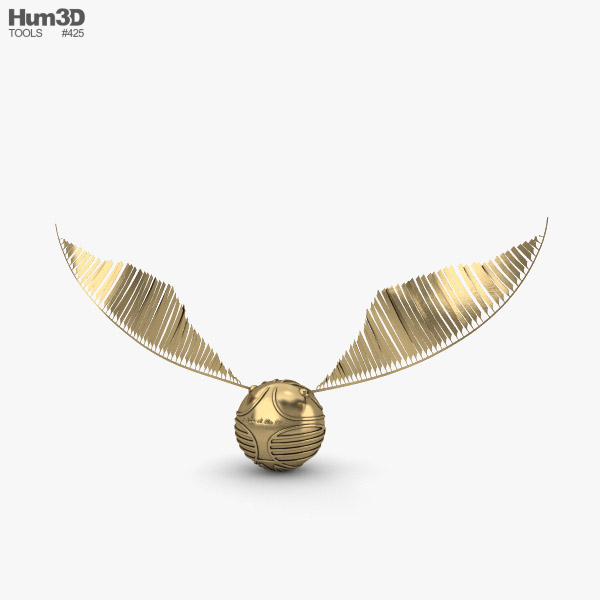 Golden Snitch 3D model