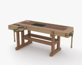 3D model of Workbench