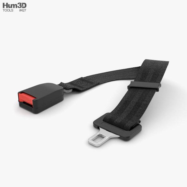 Seat Belt 3D model