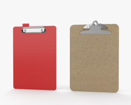 3D model of Clipboard