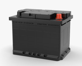 3D model of Car Battery