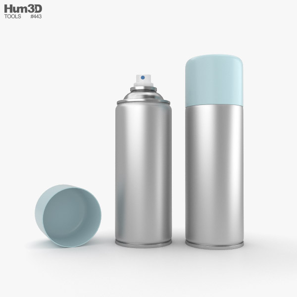 3D model of Spray Can
