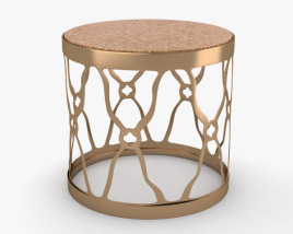 3D model of Round Side Table