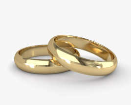 3D model of Wedding Ring