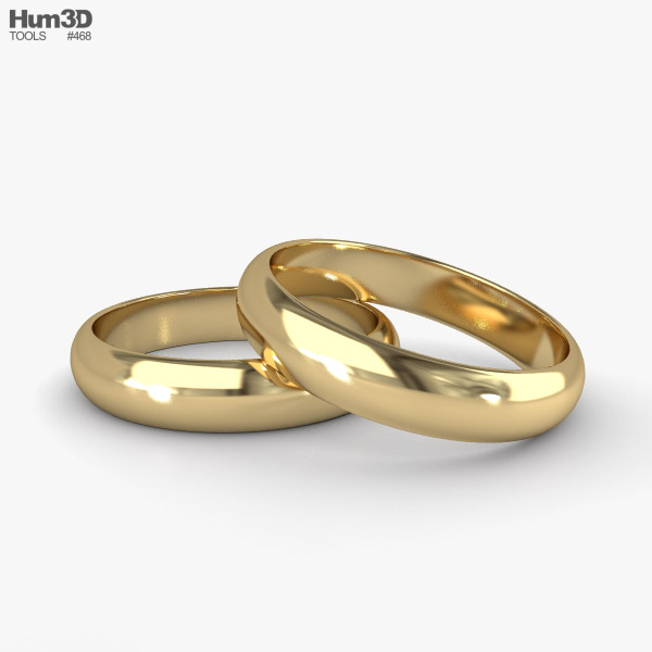 3D model of Wedding Ring