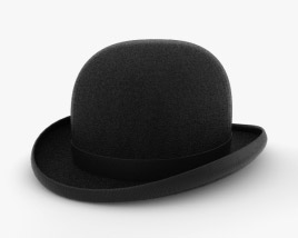 3D model of Bowler Hat