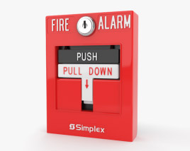 3D model of Fire Alarm