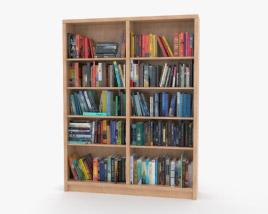 3D model of Bookshelf