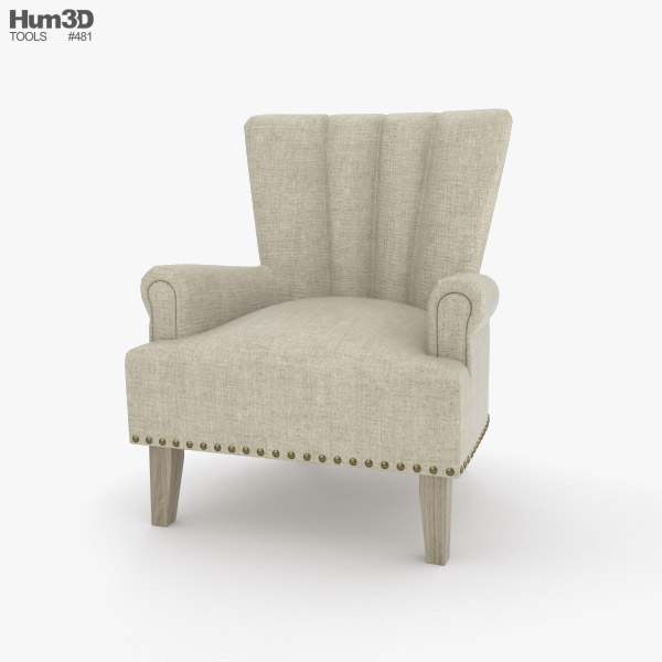 Better Homes and Gardens Accent Chair 3D model