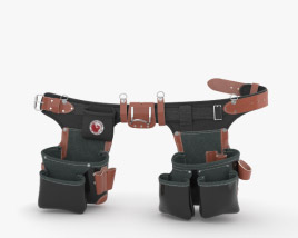 3D model of Occidental Leather B9588 Belt