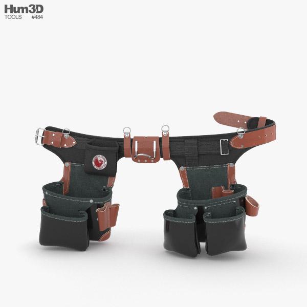 Occidental Leather B9588 Belt 3D model