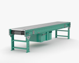 3D model of Roller Conveyor