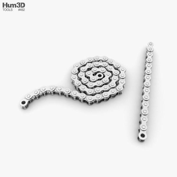 3D model of Roller Chain