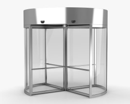 3D model of Revolving Door