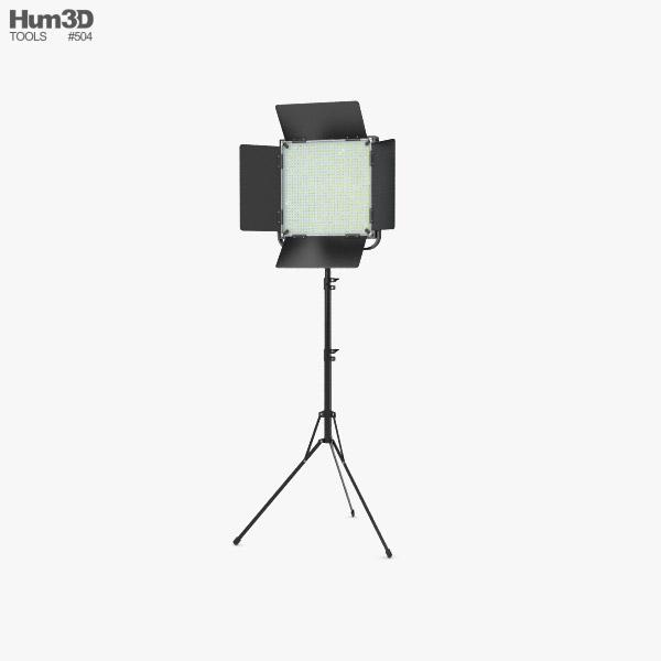 3D model of Studio Light