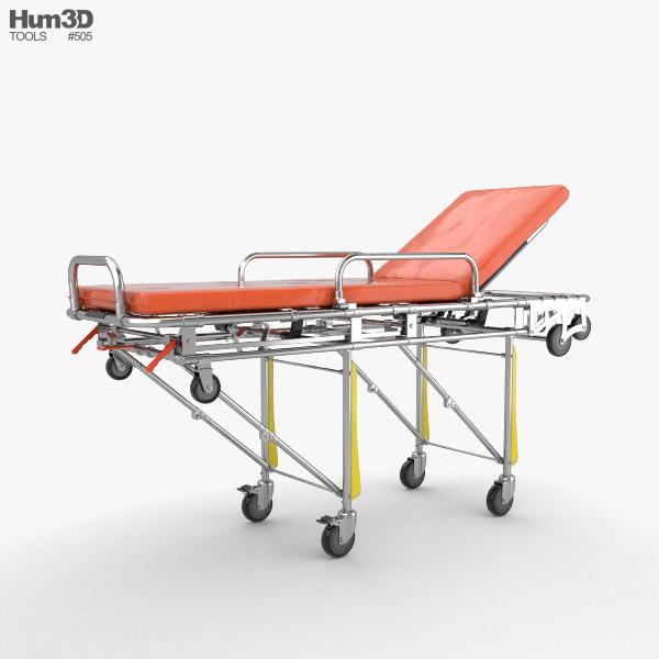 Stretcher 3D model