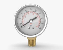 Pressure Gauge 3D model