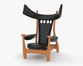 3D model of Sergio Rodrigues Chair