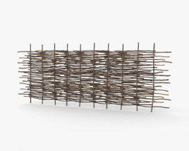 3D model of Wattle Fence