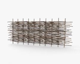 Wattle Fence 3D model