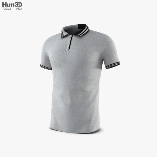 Polo Shirt 3D model