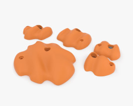 3D model of Climbing Holds