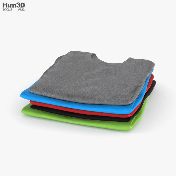 Folded Clothes 3D model
