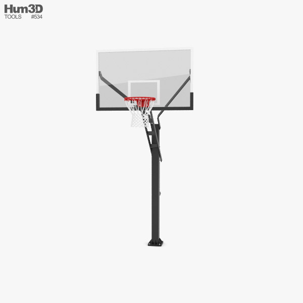 3D model of Flextreme Adjustable Basketball Hoop