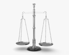 3D model of Balance Scale