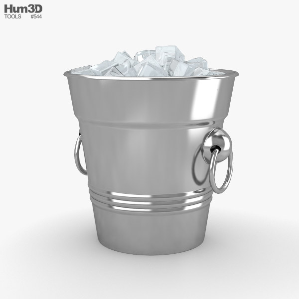 Ice Bucket 3D model