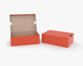 3D model of Shoe Box