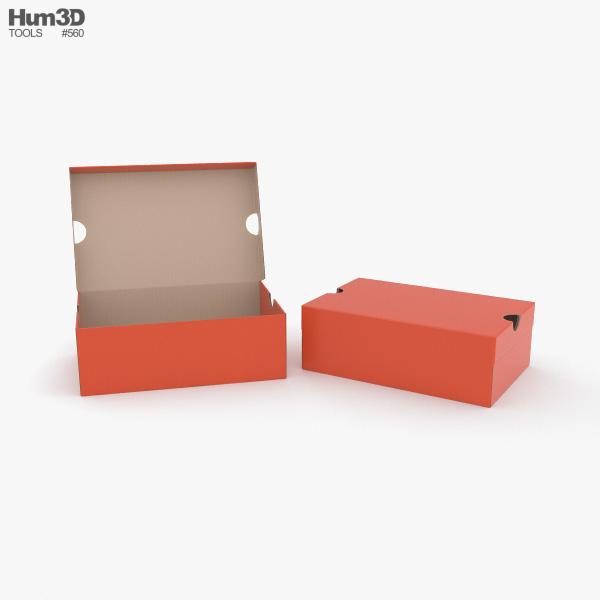 Shoe Box 3D model