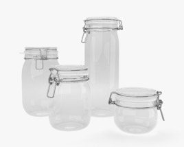 3D model of Glass Jar