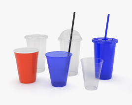 3D model of Plastic Cup