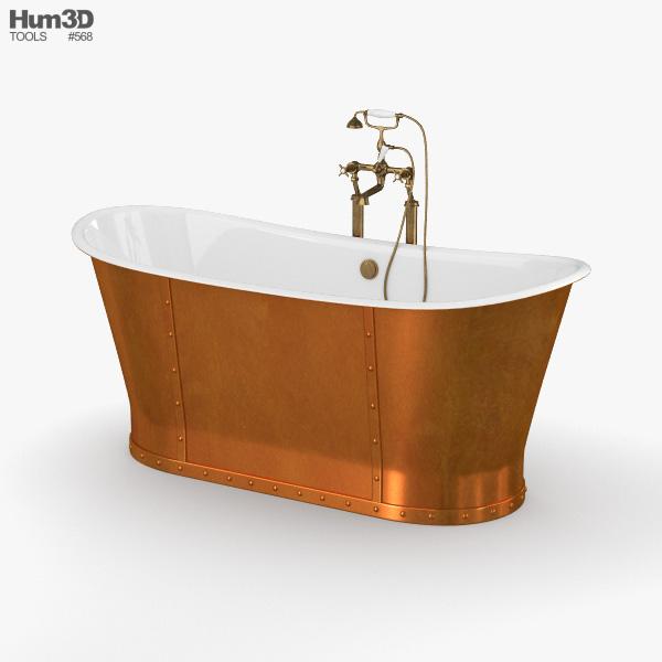CP Hart Porcelanosa Greenwich Boat Bath 3D model